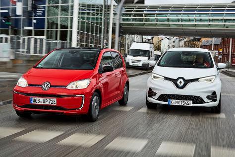 VW e-Up gegen Renault Zoe: Mit diesem E-Auto fahren Sie besser! - autobild.de