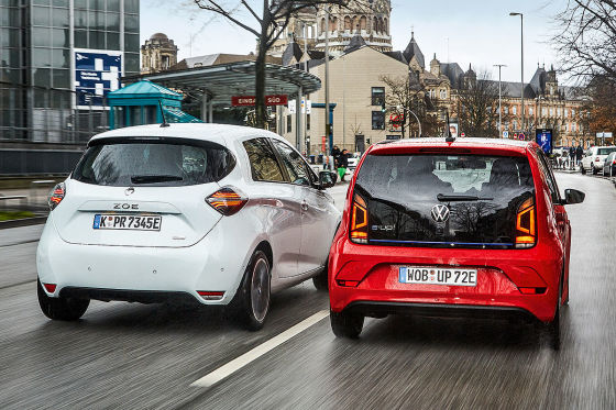 Renault Zoe VW e-Up