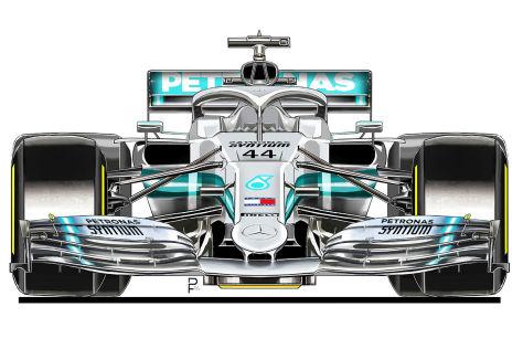 Formel 1: Mercedes W11