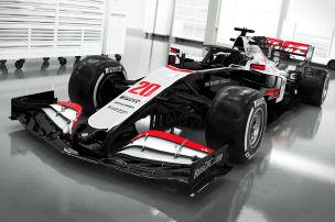 Haas zeigt neues Design