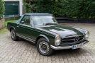 Unsere Oldies sind Blender  Mercedes 280 SL