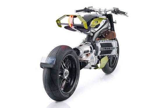 BST HyperTek: spaciges Elektro-Motorrad