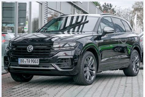 VW Touareg 4.0 V8 TDI: Sondermodell
