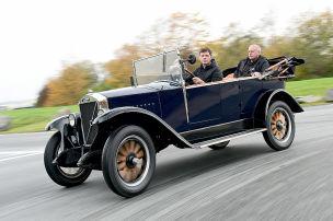 Autofahren wie vor 100 Jahren