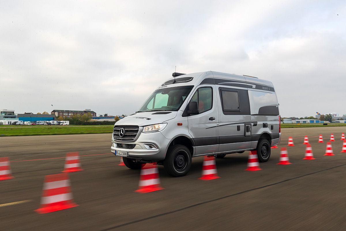 Wohnmobil-Dauertest La Strada Regent S 4x4