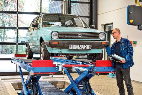 VW Polo 86C im TÜV-Check
