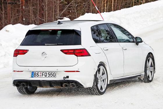Neuer VW Golf R ungetarnt