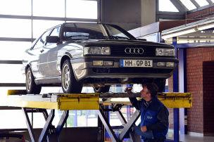 So schl�gt sich das Audi Coup� bei der HU