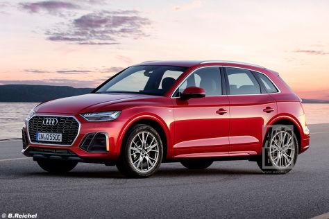 Audi Q5 Facelift Er Bleibt Sich Treu Autobild De