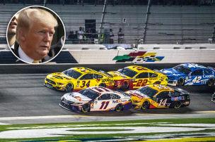 Trump besucht NASCAR-Rennen