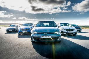 Golf 8, 1er, Ceed, A-Klasse, Astra: Test
