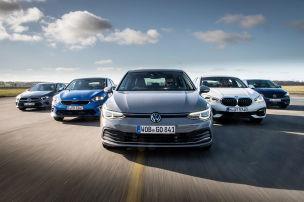 BILDplus: VW Golf 8 im Vergleichstest