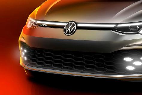 VW Golf 8 GTD (2020): Teaser