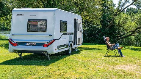 Eriba Nova 445: Wohnwagen-Test