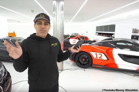 Supercar-Sammlung: Bugatti, Pagani, McLaren und Co