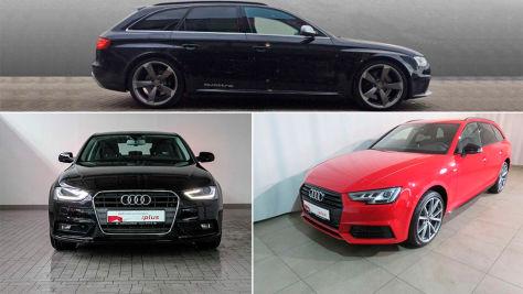 Audi A4: Gebrauchtwagen-Angebote