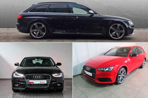 Audi A4: Drei unterschiedliche Empfehlungen
