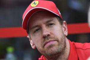 Vettel f�llt bei Barcelona-Test aus