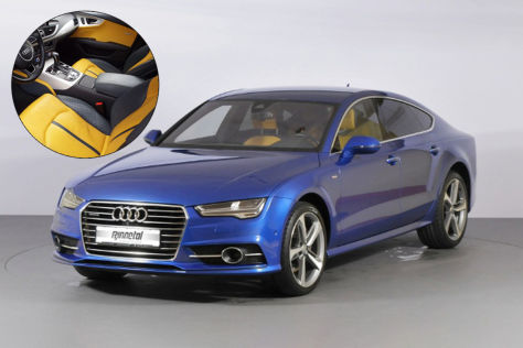 Audi A7 mit ausgeflipptem Innenraum zu verkaufen - autobild.de
