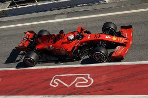 Vettel nur im Mittelfeld