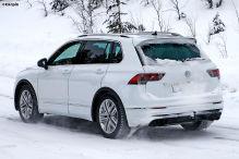 VW Tiguan R (2020): Erlkönig, neue Bilder, Motor