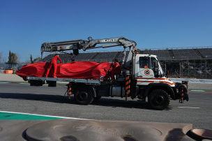 Motorschaden bei Vettel!