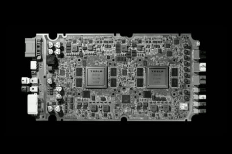 Tesla Hardware 3: Model 3, Model S, Technik, Steuergerät