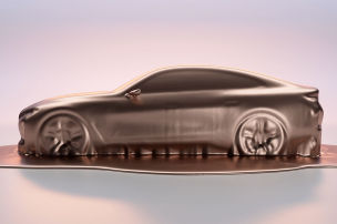 BMW zeigt i4-Studie in Genf