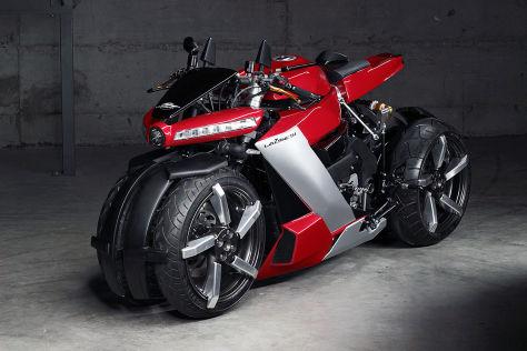 Lazareth LM 410: verrücktes Vierrrad-Bike