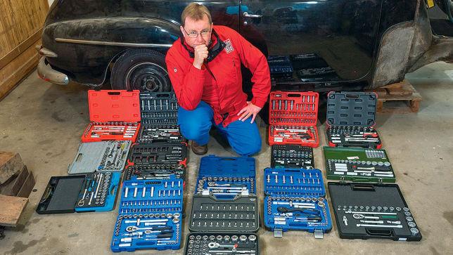 Werkzeugkoffer im Vergleich