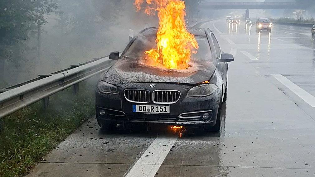 BMW-Diesel: Motorbrände, Rückrufe