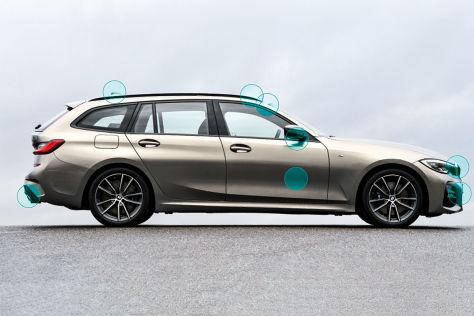 Test: Elektronische Helfer im Auto