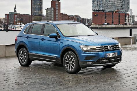 VW Tiguan Dauertest