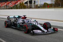 Formel 1: Mercedes toppt Testfinale