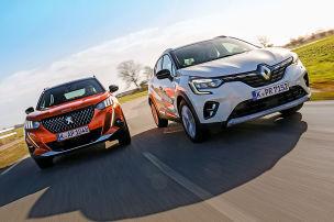 Zwei französische Mini-SUVs im Test