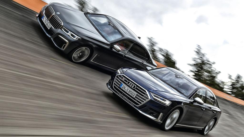 Duell der Premium-Limousinen