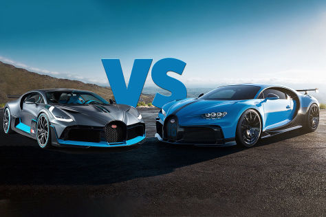 Bugatti Chiron: Sondermodelle