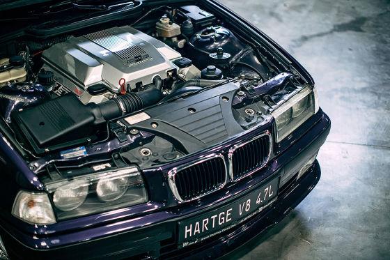 Absolut irrer E36 Compact mit 4,7 Liter V8!
