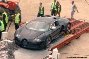 Wird dieser Bugatti Veyron verschrottet?