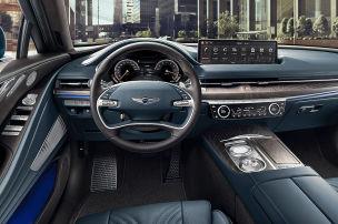 Intelligenter Fahrersitz im Genesis G80