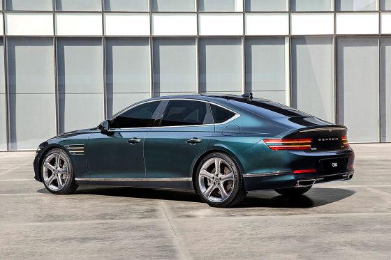 Neuer Audi A7-Gegner von Genesis