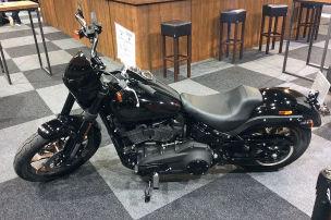 An dieser Harley st�rt nur ein Detail