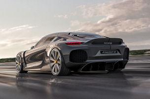 Koenigsegg TGF Dreizylinder (2020): Technik