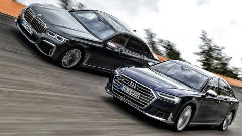 Audi S8, BMW M760Li