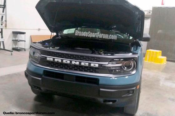 Der Ford Bronco Sport ist geleakt