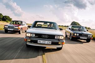 80er-Limousinen mit viel Power!