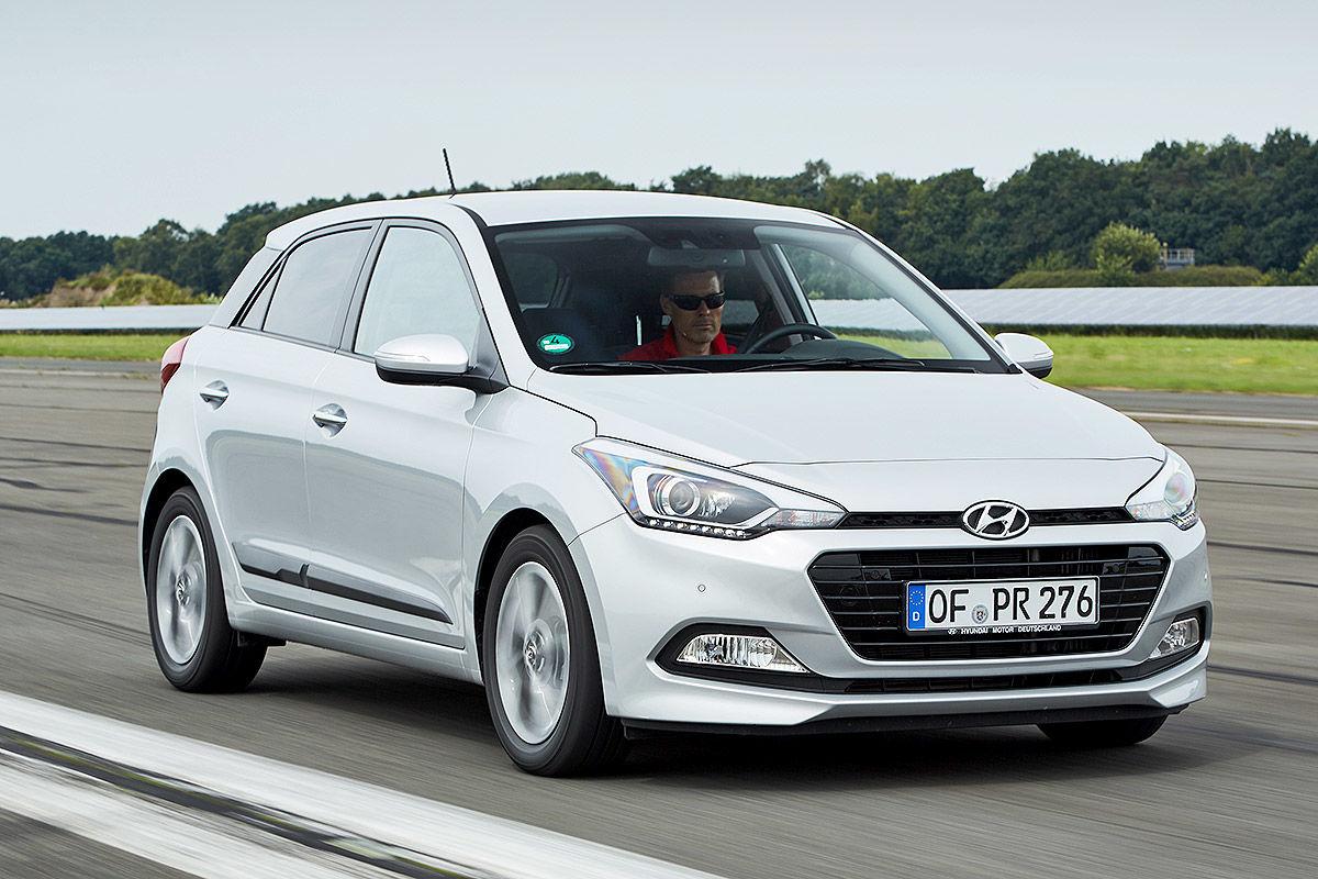 Hyundai i20 Blue 1.0 T-GDI