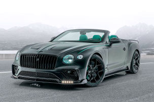 Aggressiver Look für das Bentley-Cabrio