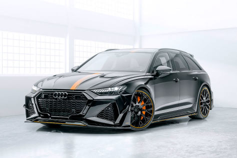 Audi RS6 Tuning: Mansory