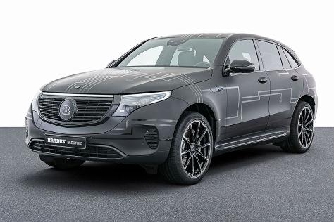 Mercedes EQC Tuning: Brabus Power-Upgrade